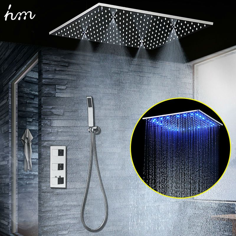 $498.00 | Buy Concealed Thermostatic Shower Set SUS304 Mirror ...