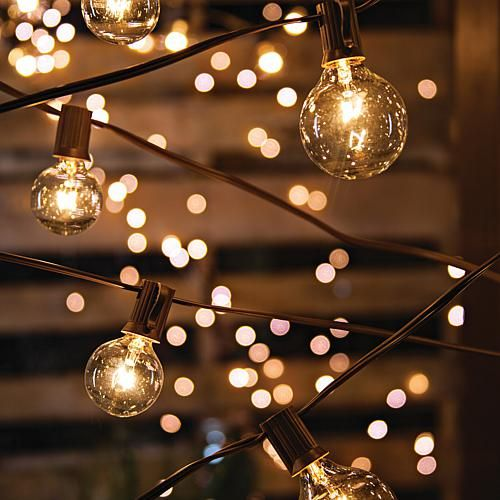 Gerson Company 20'L Patio Light Strings with 20 Bulbs 2-Pack -   19 beauty Wallpaper lights ideas