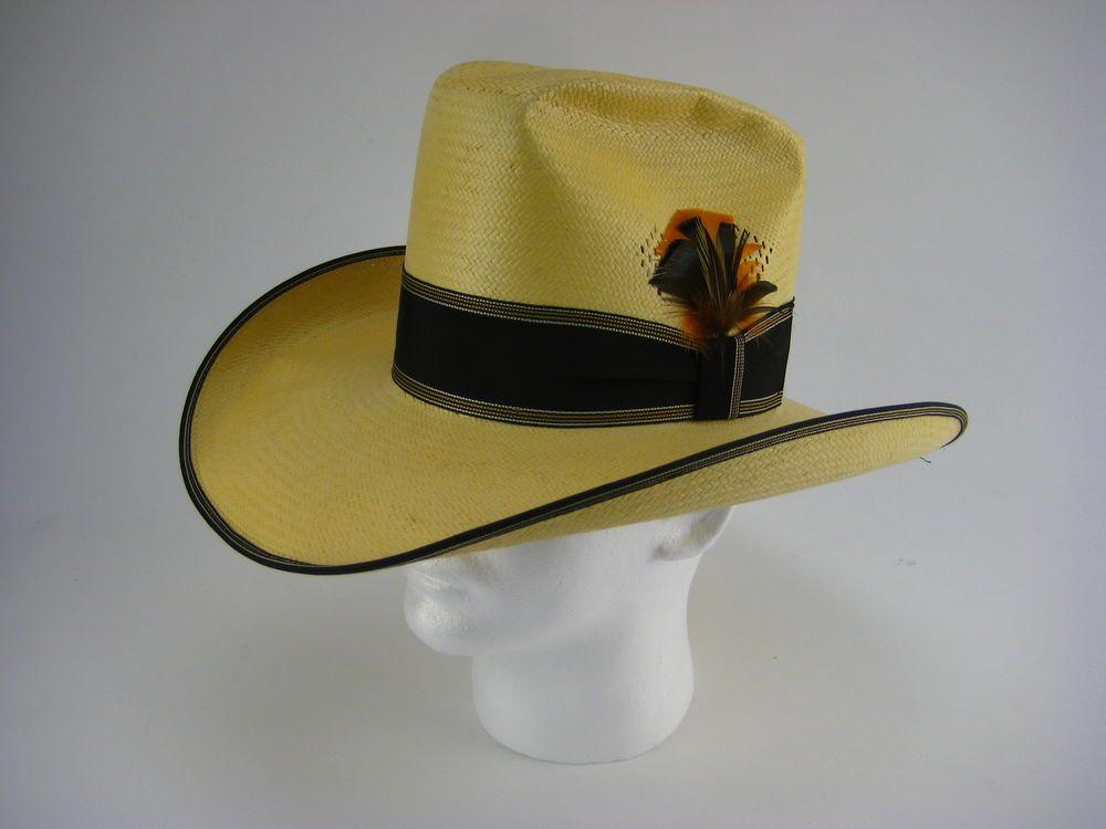 49586f76f32 Resistol Stagecoach Mochila Cowboy Hat Size 7