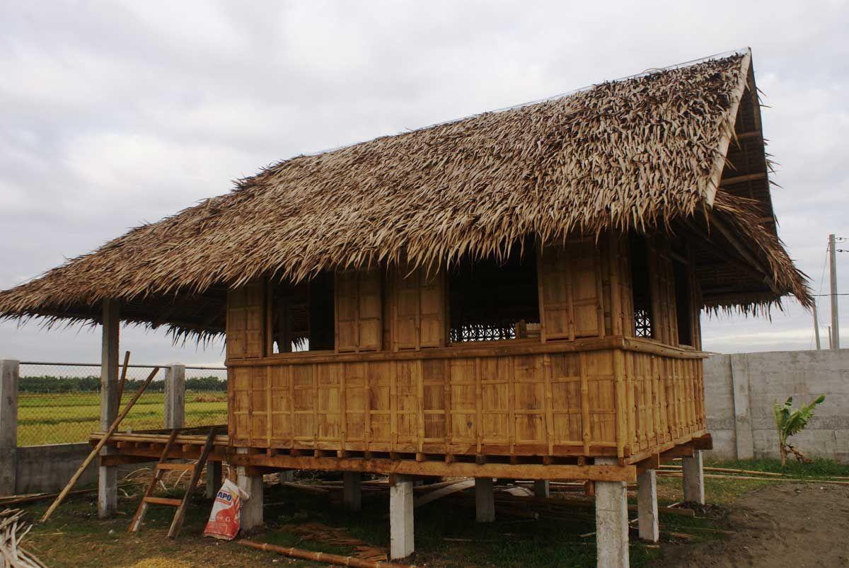 Building Bahay Kubo Kubo In 2018 Pinterest Bamboo House
