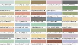 Behr Ultra Color Chart Paint Color Chart Behr Paint Colors