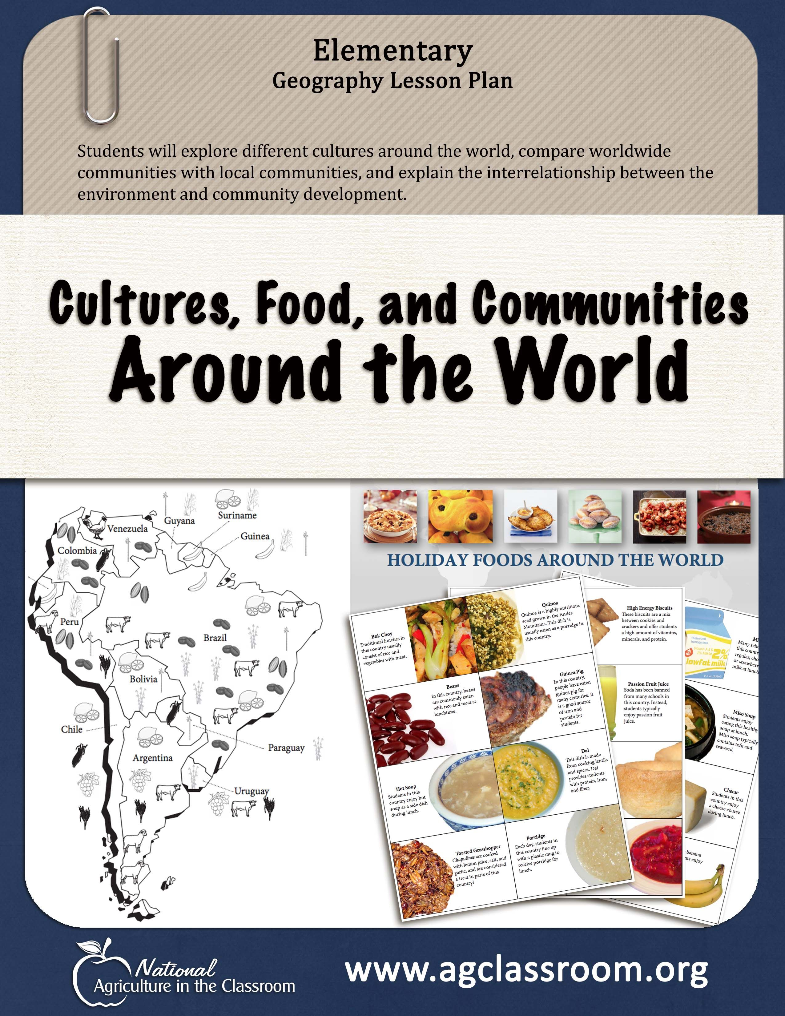 Do Your Students Know What Kids Around The World Eat For