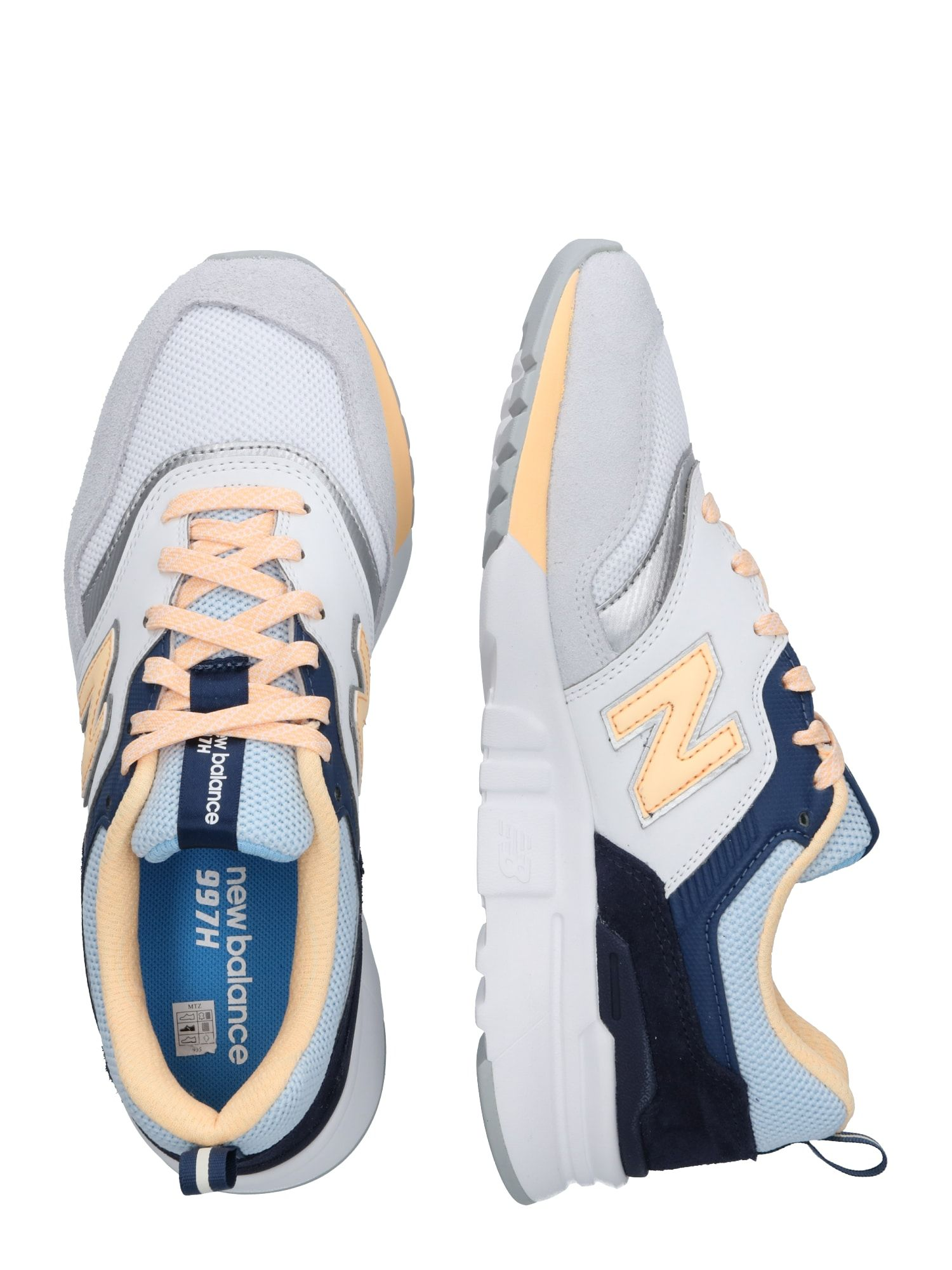 New Balance Sneaker 'CW 997' Damen, Gelb / Schwarz / Weiß ...