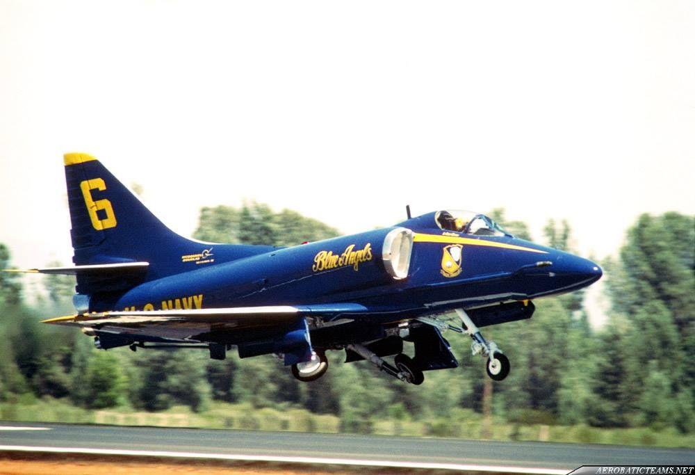 BLUE ANGEL'S  A-4 Aircraft