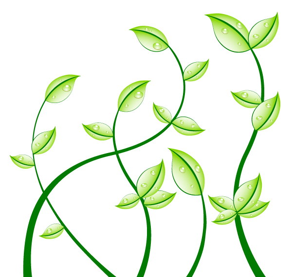 green leaves free vector graphics free vector graphics free rh pinterest com gold leaf vector art gold leaf vector art