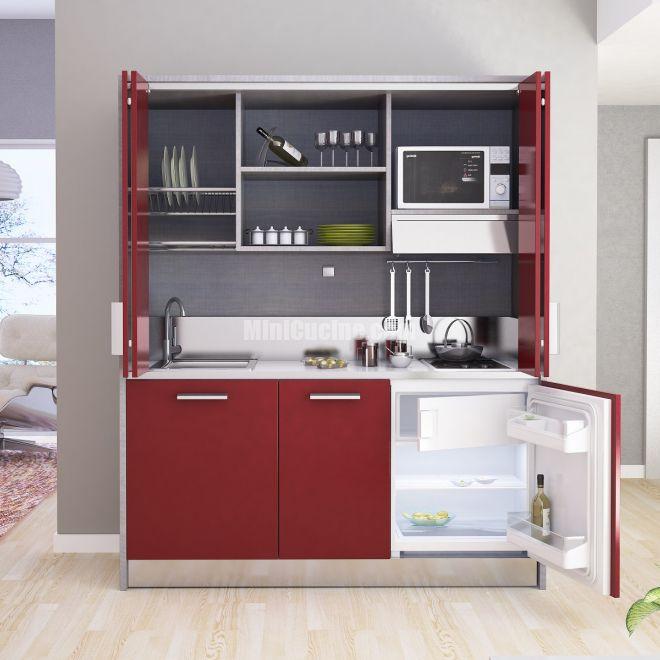 Cucine a scomparsa | modern kitchen | Cucine, Mini cucina, Cucine ...