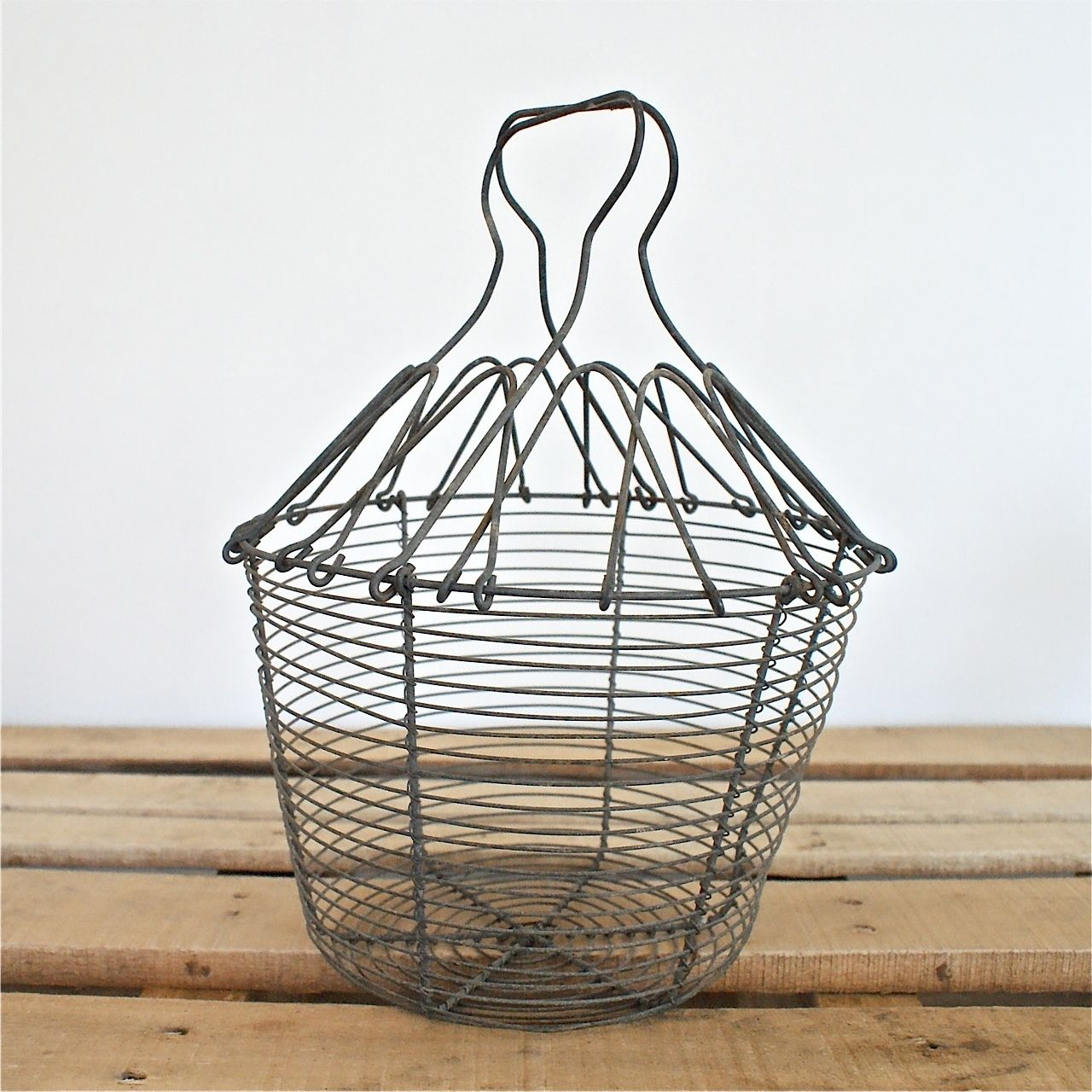 Deleted_20716_french vintage wire egg basket by bayside