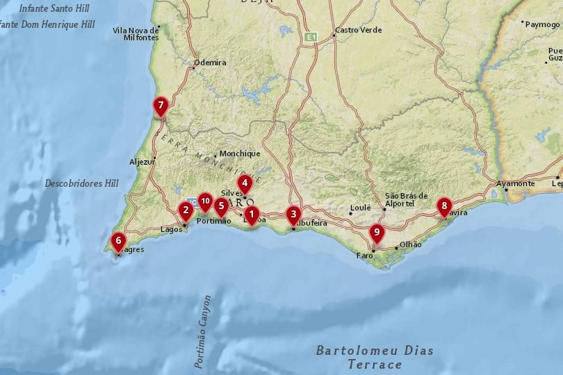 10 Most Amazing Destinations In Southern Portugal Photo Maps