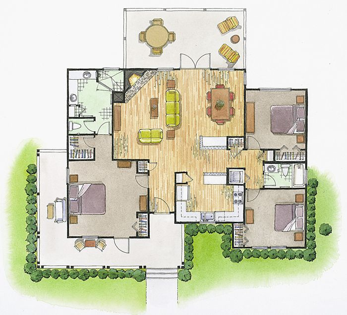 Floor Plans Elevations Rendered Floor Plan Floor Plans Architectural Floor Plans