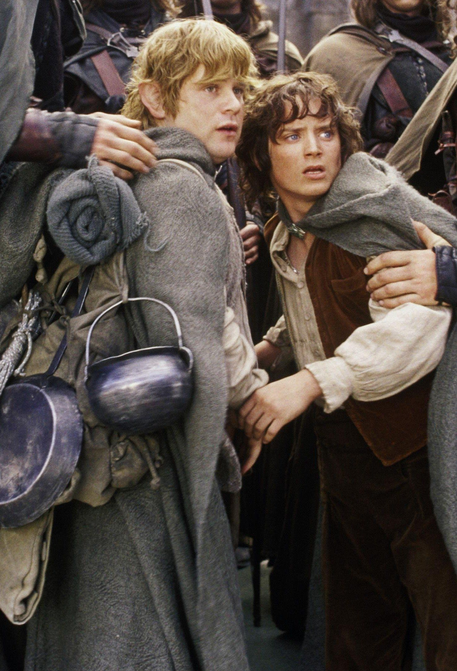 Sam and Frodo | The Lord of the Rings: The Two Towers