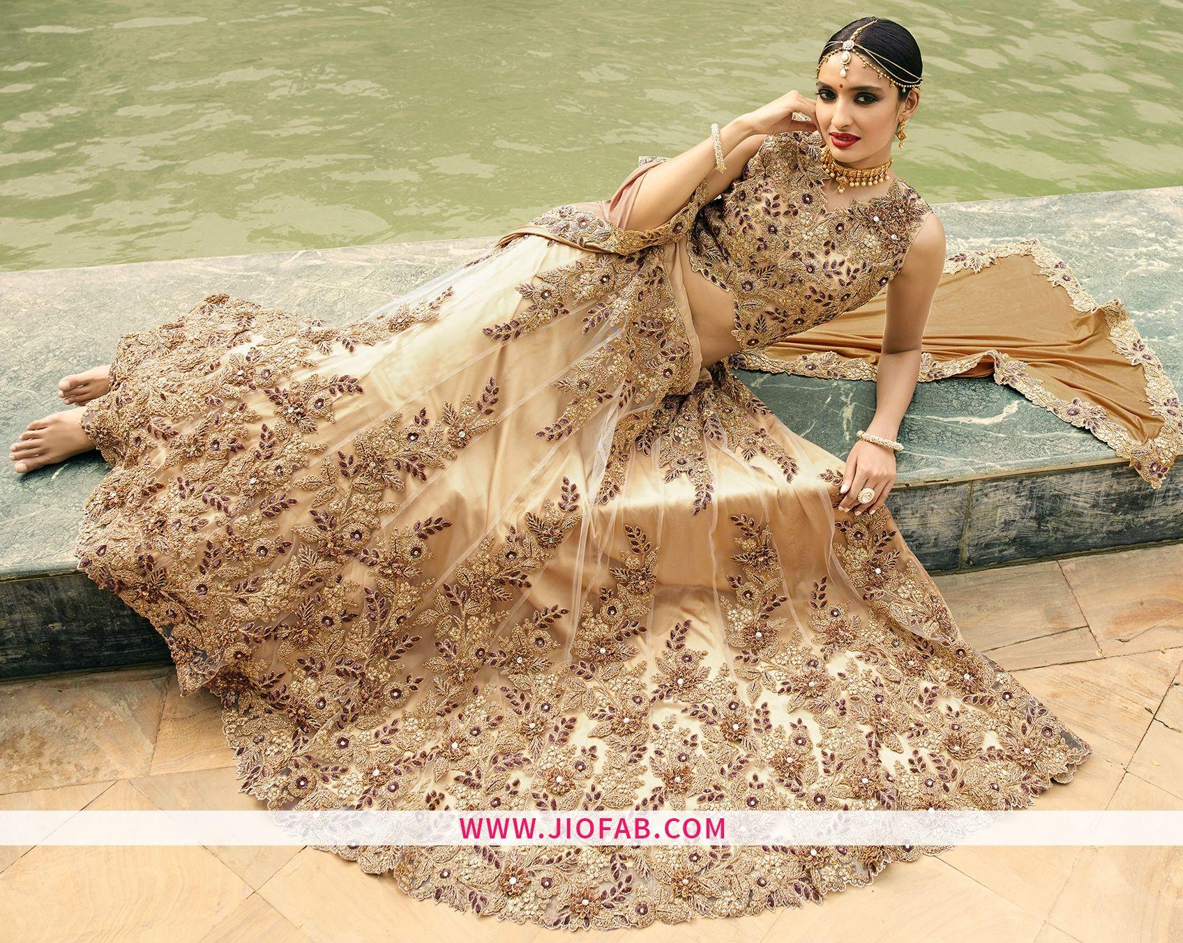 2e9bf06478 Heavy Partywear Lehenga With Fancy Hand Work | Lehenga Choli ...
