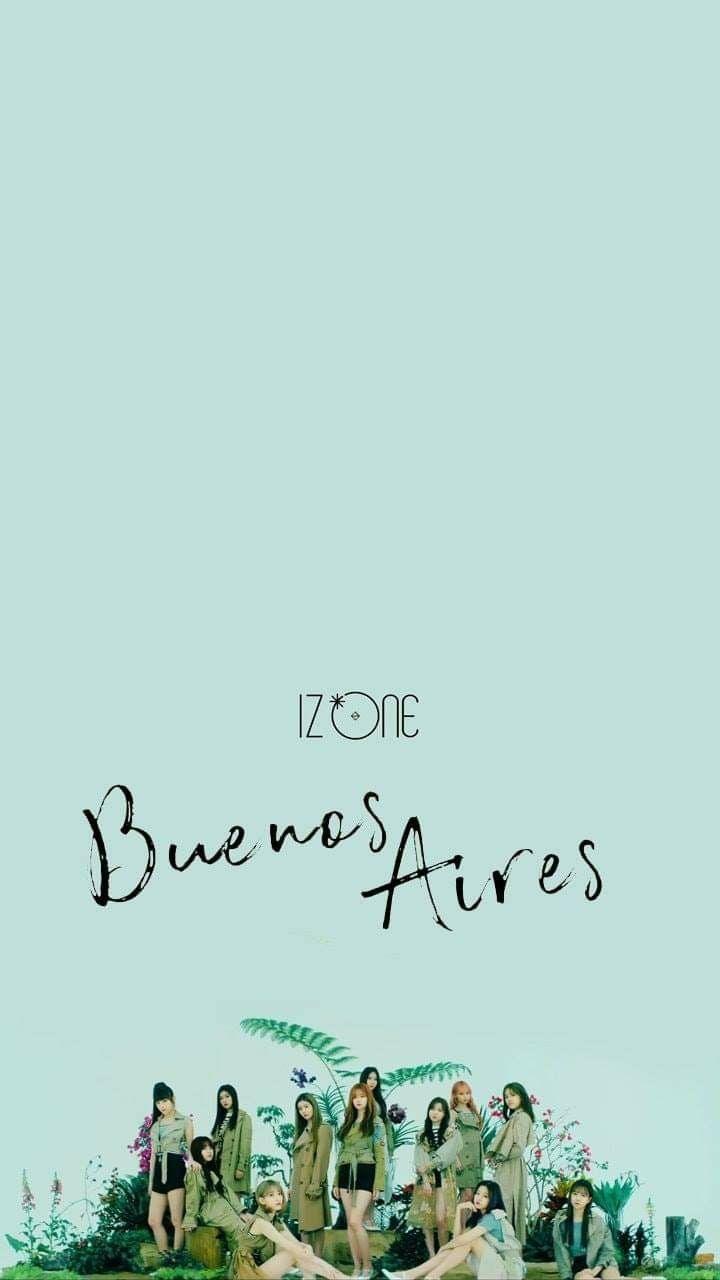 IZONE #BuenosAires #wallpaper | Seni, Wallpaper ponsel