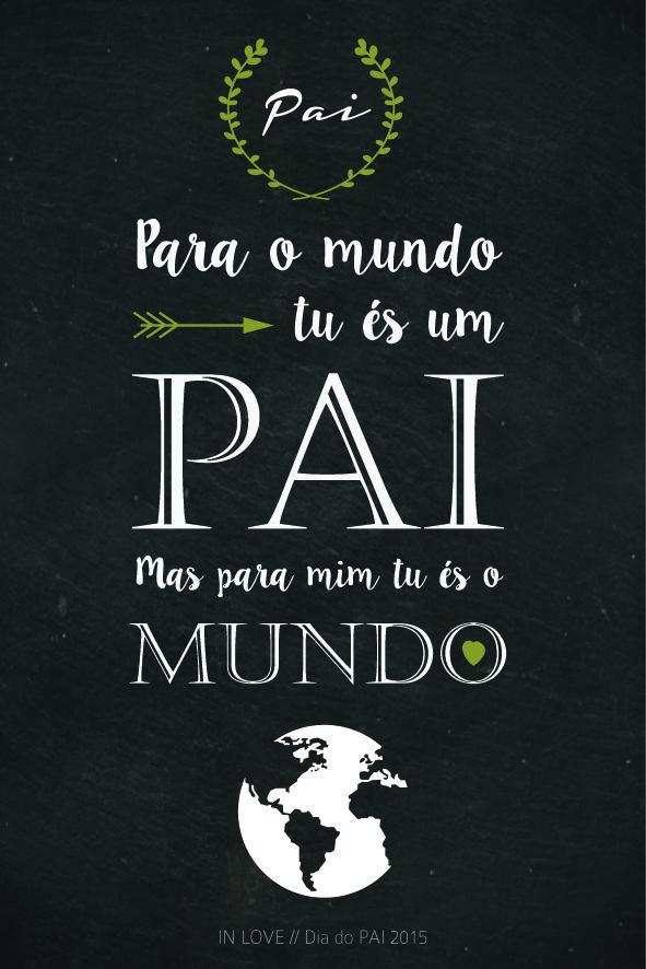 Dia Do Pai Com Amor Free Printable Dia Do Pai