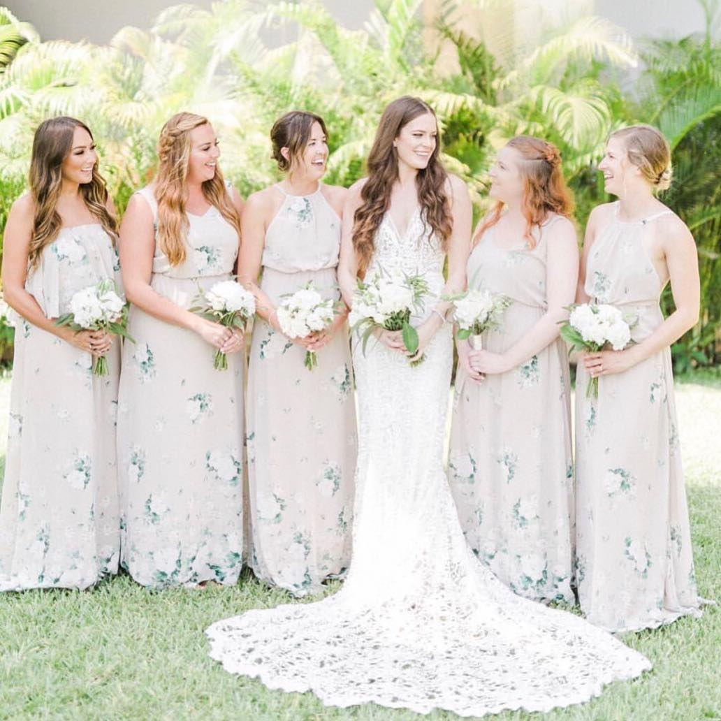 Pretty Pals In Our Bouquet Toss Bridesmaid Dresses Mumuweddings