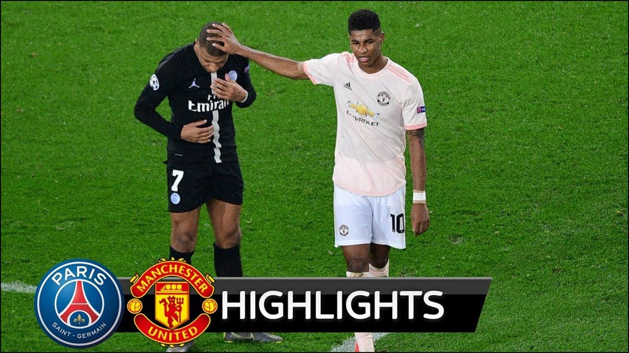 Psg Vs Manchester United 1 3 All Goals Extended Highlights 2019 Hd Manchester United Football Gif Psg