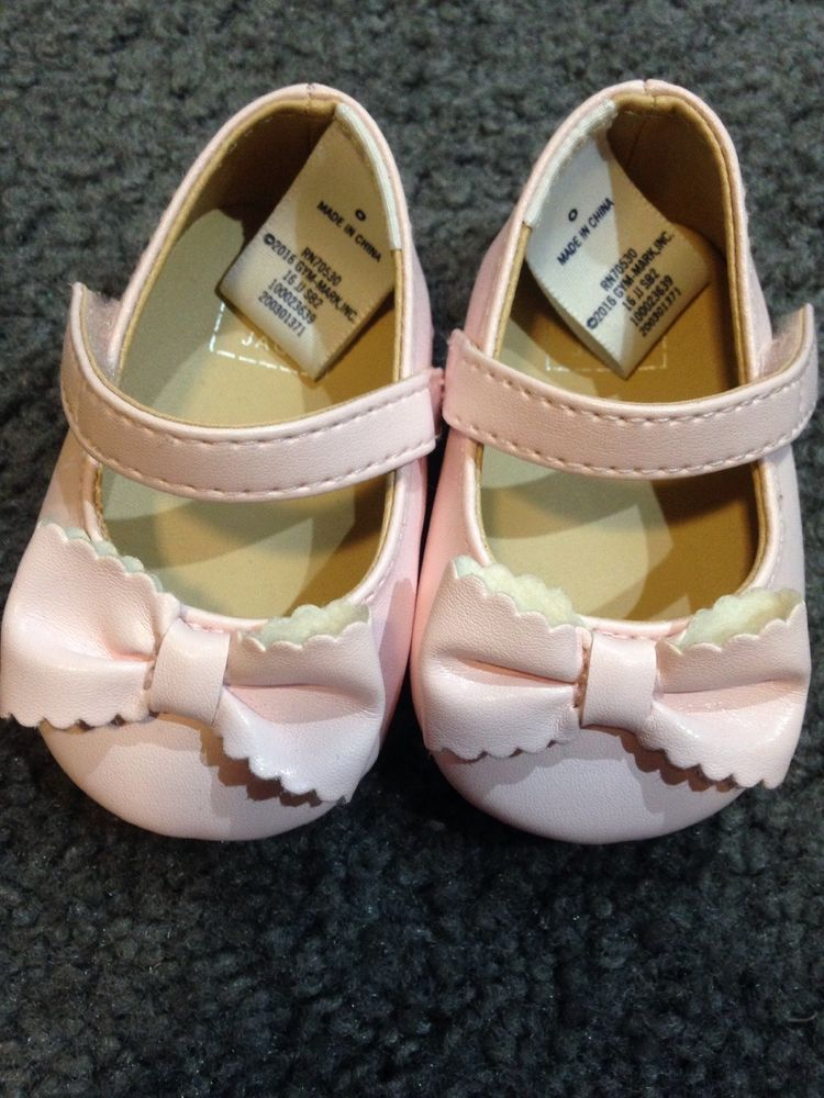 5d536304cc8656 Janie   Jack Baby Girl CRIB SHOES SIZE 0 Pink  fashion  clothing  shoes   accessories  babytoddlerclothing  babyshoes (ebay link)