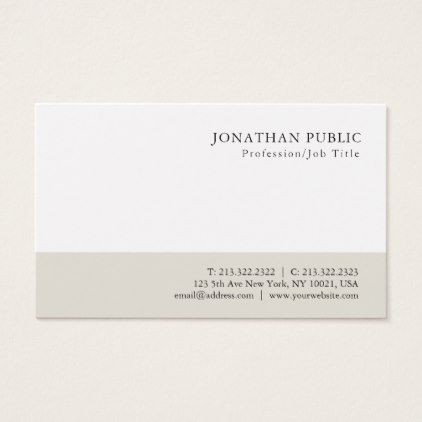 Professional modern minimalist classy design business card elegant professional modern minimalist classy design business card elegant gifts gift ideas custom presents colourmoves
