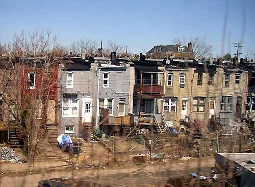 Image result for images of the baltimore slums