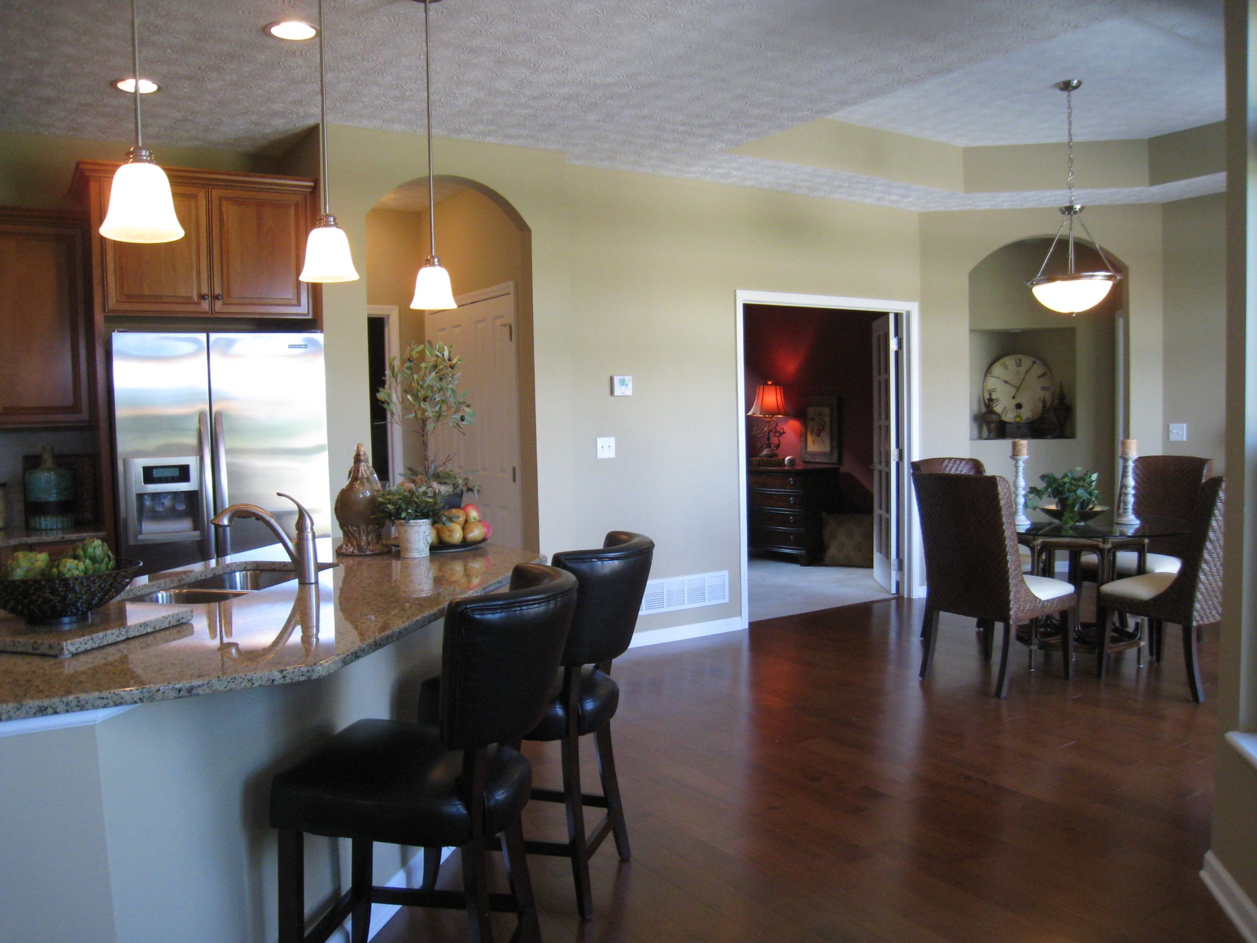Model home merchandising by design by desann for quarry lakes portico model