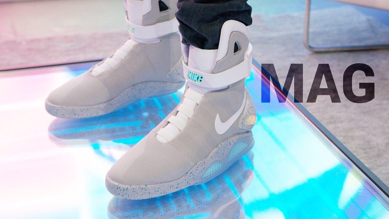 self-lacing shoes | Nike mag, Nike