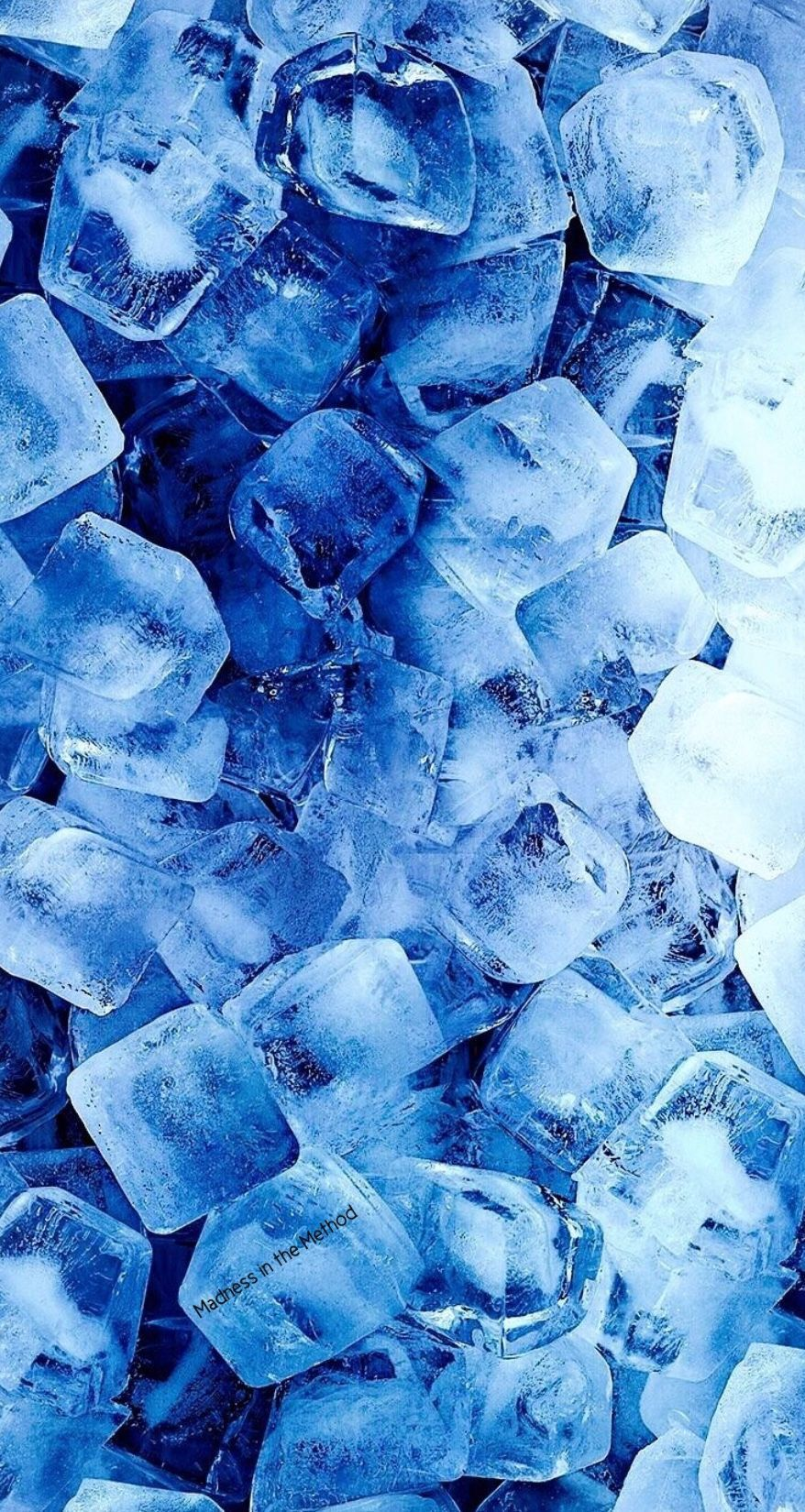 Icy blue aesthetic baby blue wallpaper