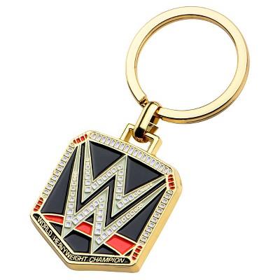 Men's Wwe Logo Zinc Stainless Steel (Silver) Key Chain