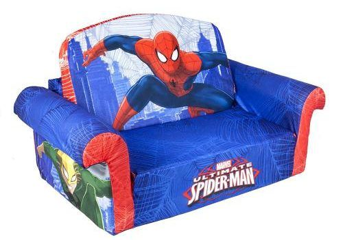 Spiderman Flip Open Foam Sofa Kids