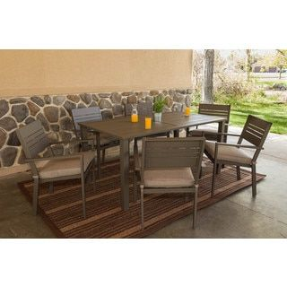 Shop for Somette Kaufmann Aluminum 7 Piece Dining Table Set. Get free delivery at Overstock.com - Your Online Garden