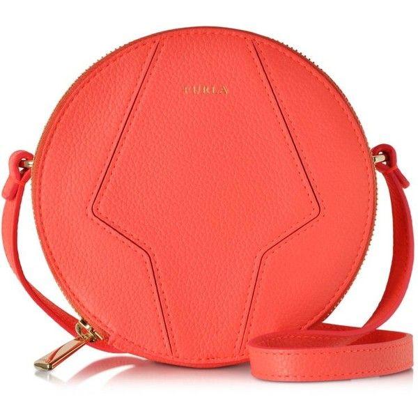1311d6c005 Furla Handbags Perla Round Mini Crossbody Bag ($165) ❤ liked on ...