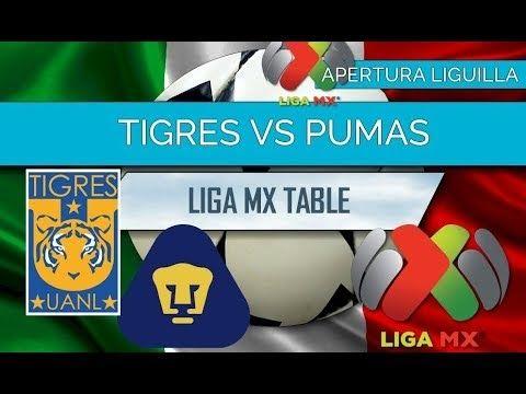 Tigres Vs Pumas En Vivo My Saves Pumas Guadalajara Soccer