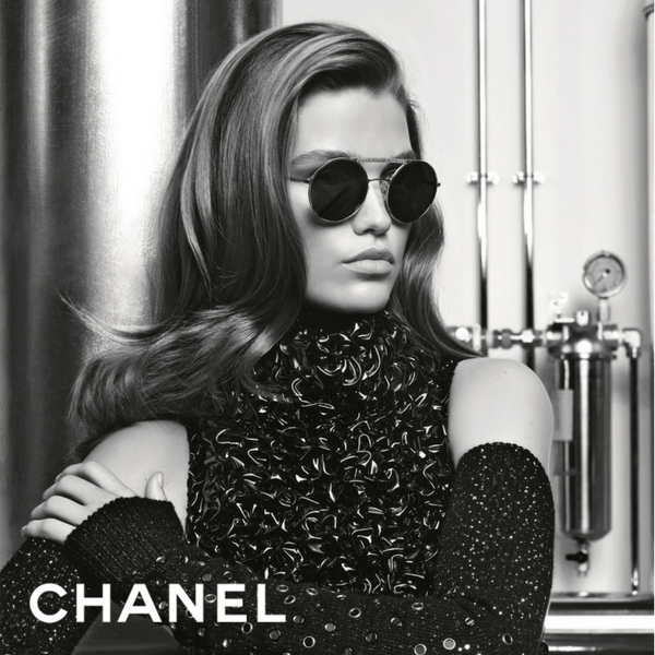 1194c9f6d7d97 Photographed by Chanel s creative director Karl Largerfeld and modelled by  the stunning Luna Bijil