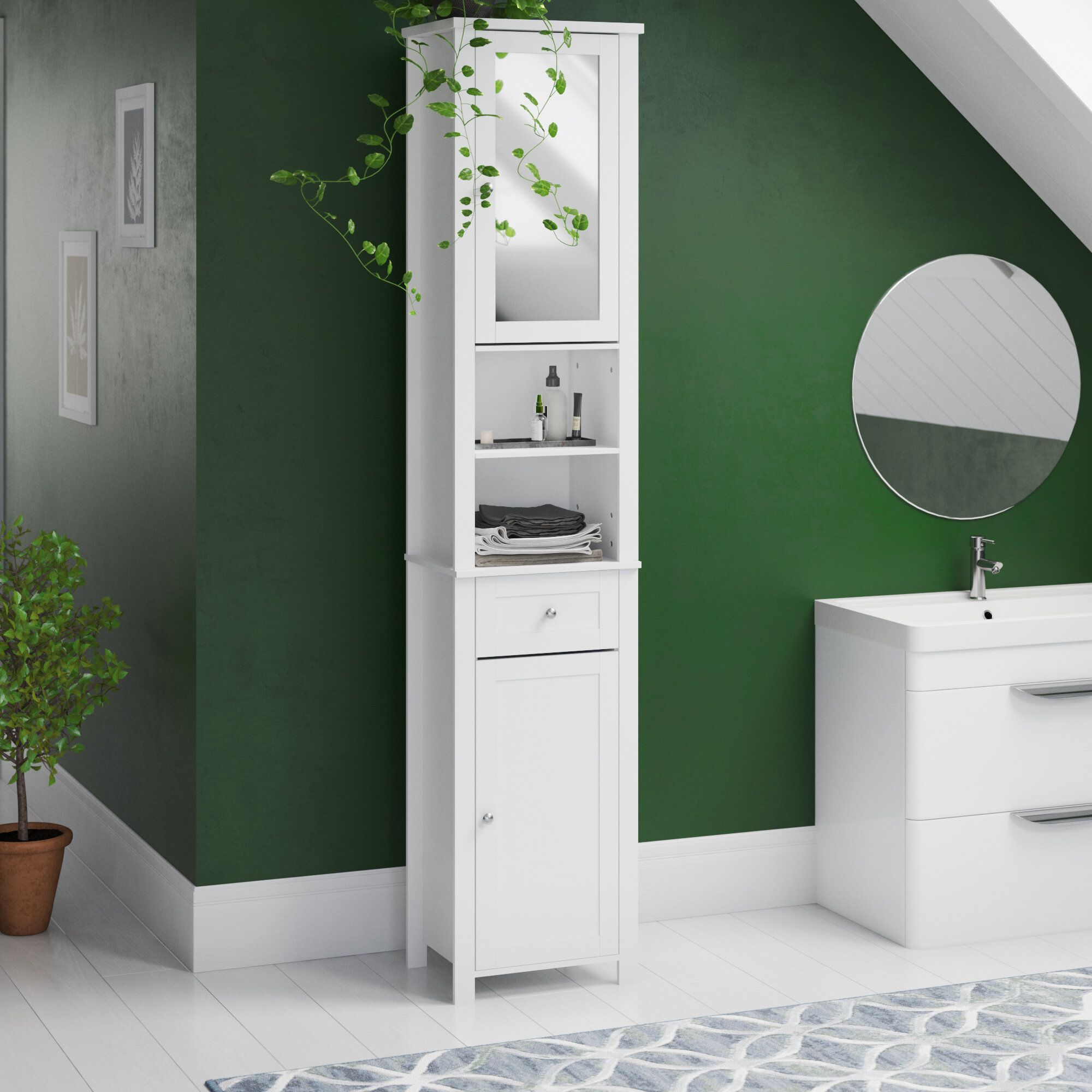 11+ Colorful Free Standing Bathroom Cabinets - Ceplukan  Bathroom