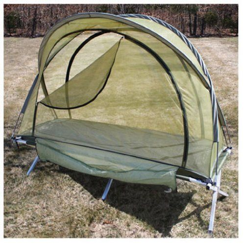 double camping cot tent