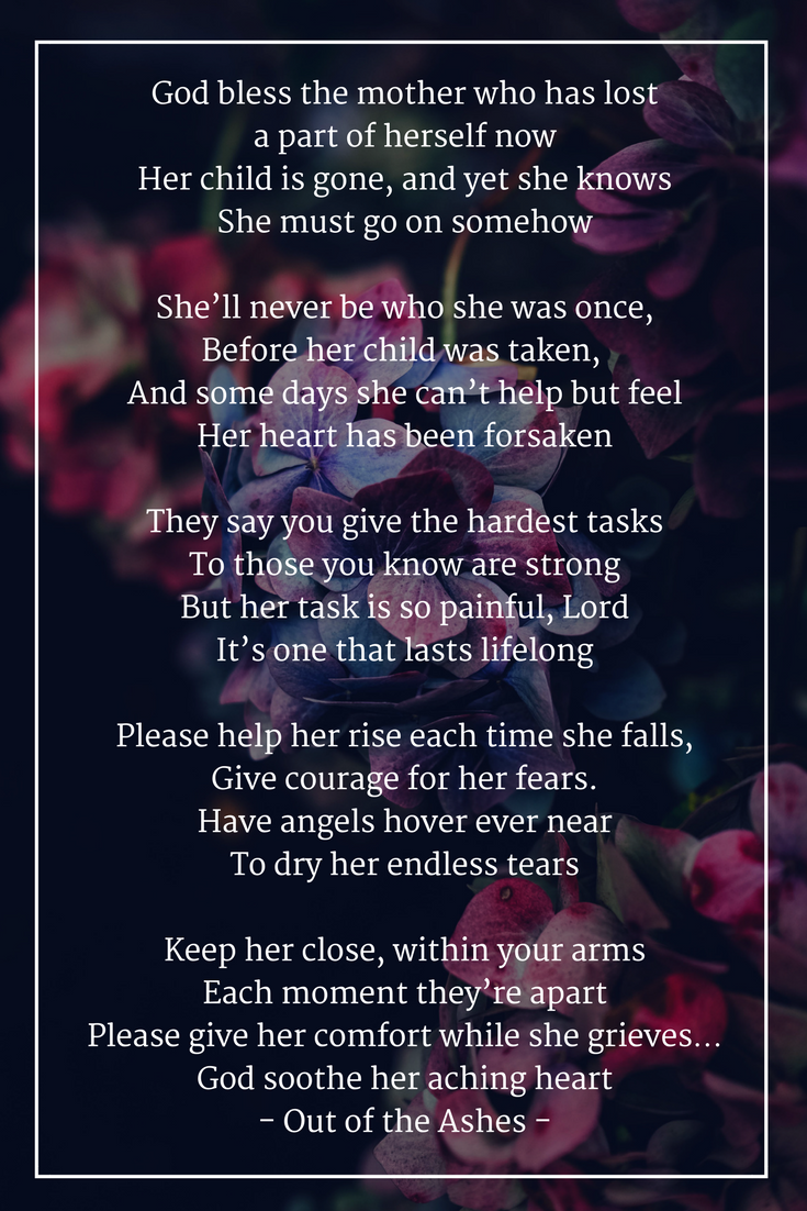 To Mothers Who Ve Lost A Child Willwerscheid Funeral Home And Cremation Serving St Paul And West St Paul Minne Losing A Child Grief Healing Mother Quotes