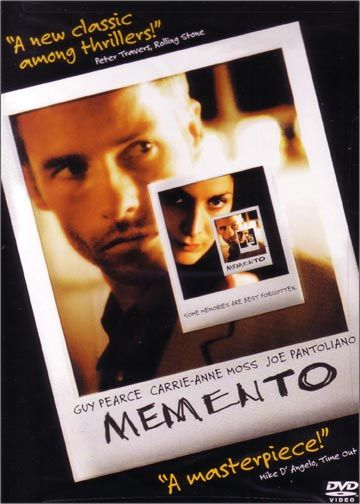 memento a movie written and directed by christopher nolan Memento is a 2000 psychological thriller film written and directed by christopher  nolan many of nolan's fans think of this film as one of his masterpieces.