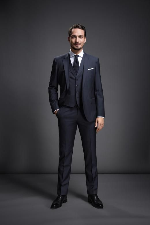 Mats Hummels in Hugo Boss