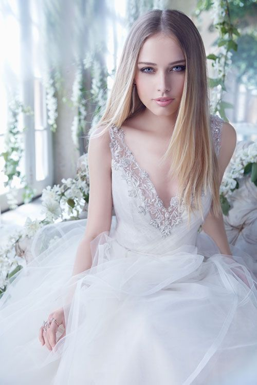 Bridal Gowns, Wedding Dresses by Alvina Valenta - Style AV9450 ...