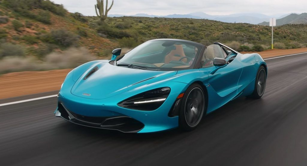 Along Came A Spider First Reviews Of Open Top Mclaren 720s Are In Mclaren New Mclaren Twin Turbo