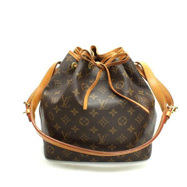 Louis Vuitton Petit Noe Monogram Shoulder bags Brown Canvas M42226