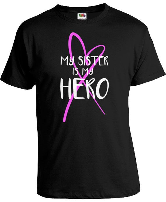 ccc0d7ebe Pink Ribbon Shirt Breast Cancer Walk Brother T Shirt Family Gifts For  Sister Support TShirt My Siste