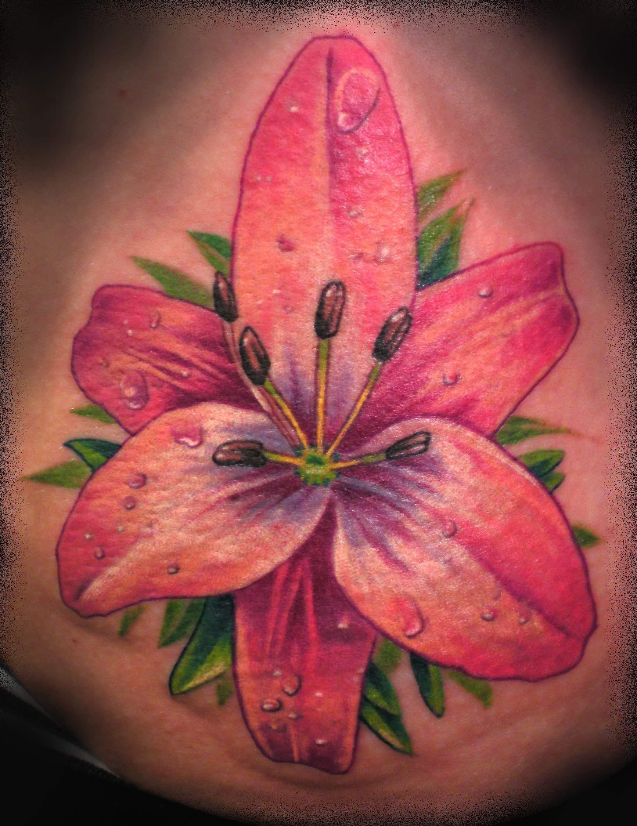 Flowertattoos Body Tattoos Pictures 30 Beauteous Tattoo Lilly