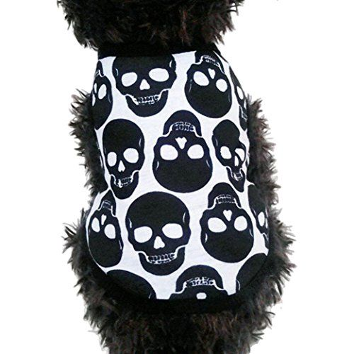 Puppy Clothes,Haoricu Small Dog Pet Clothes Skull Ghost V... https://www.amazon.com/dp/B01L6QQ1XG/ref=cm_sw_r_pi_dp_x_sE34ybDVZAA32