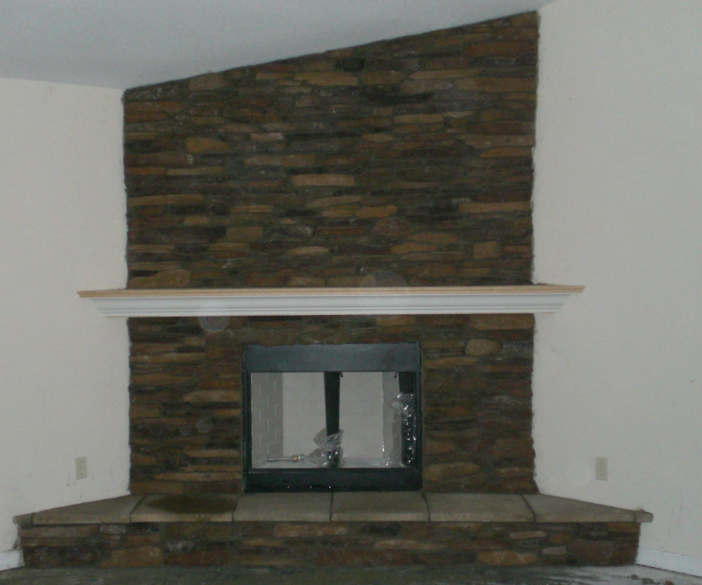 Living Room Small Narrow With Corner Fireplace Design ...