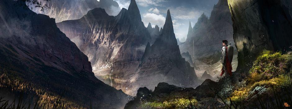 Valley by Florent Llamas   Fantasy   2D   CGSociety