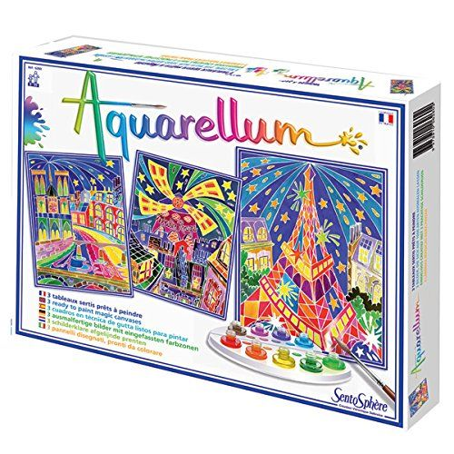Sentosphere Aquarellum Paris By Night Arts And Crafts Tween