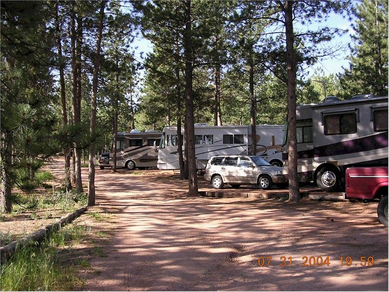 Bristlecone Lodge Winter Camping RV Park Pikes Peak