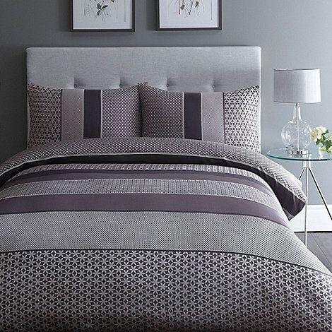 Home Collection Purple Jacquard 39 Adelle 39 Bedding Set Debenhams Bedtime Pinterest