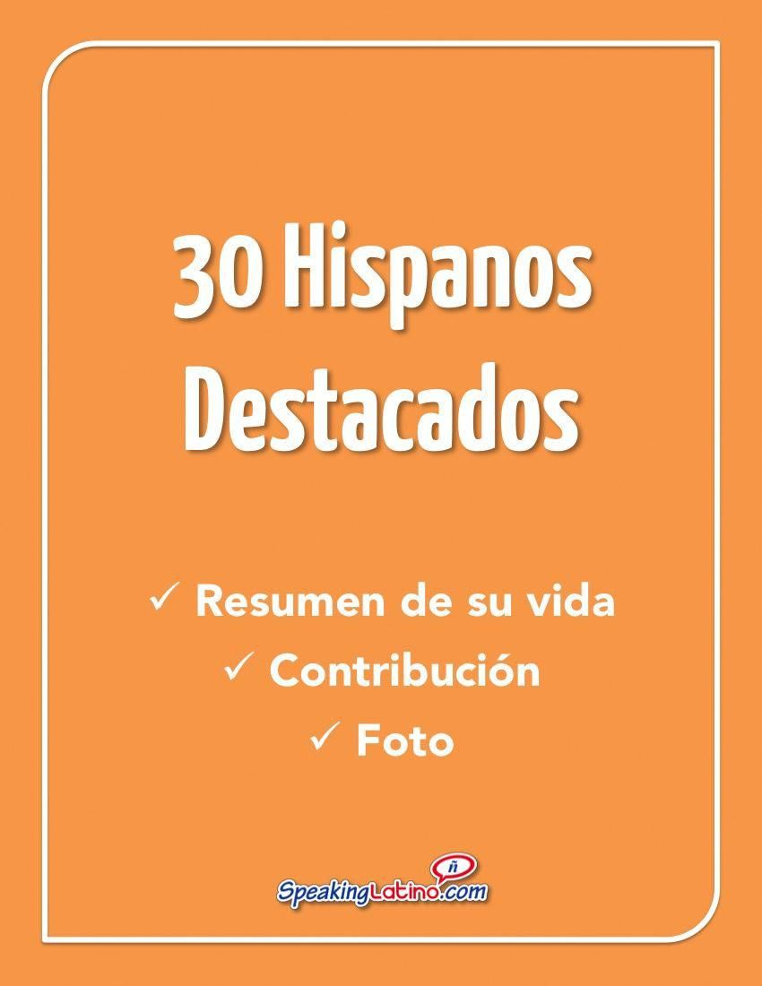 30 outstanding latinos for hispanic heritage month printables