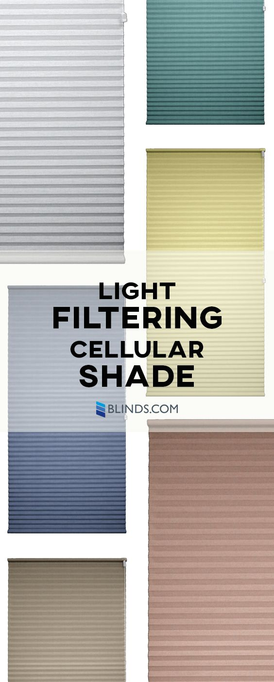 Popular window coverings  one of our most popular shades the light filtering cellular shade