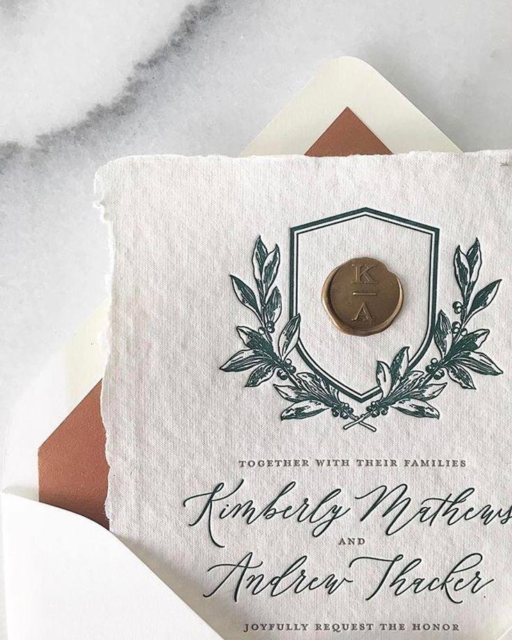 Old World Elegance: Old World Elegance Invitation, Dusty Blue Wedding